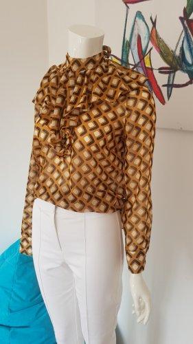 Boss Orange Bluse retro Blogger stoffhose neu nie getragen dazu 34