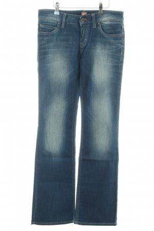 Boss Orange Boot Cut Jeans blau Casual-Look