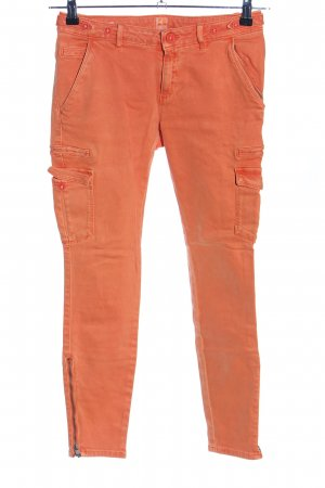 Boss Orange Cargo Pants light orange casual look