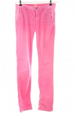 Boss Orange Chinohose pink Casual-Look