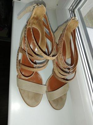 Boss Orange High Heels bronze-colored-grey brown