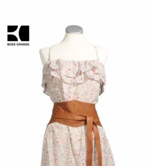 Boss Orange Summer Dress multicolored cotton