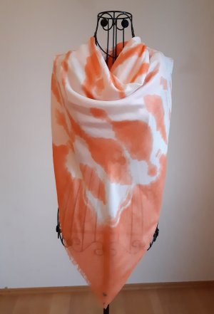 Boss Orange Halsdoek wit-licht Oranje Viscose