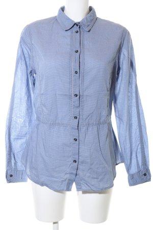 Boss Orange Hemd-Bluse blau Karomuster Casual-Look
