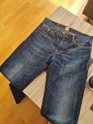 Boss Orange Jeans coupe-droite bleu foncé