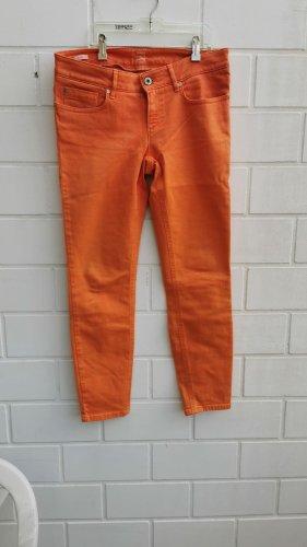 Boss Orange Drainpipe Trousers orange