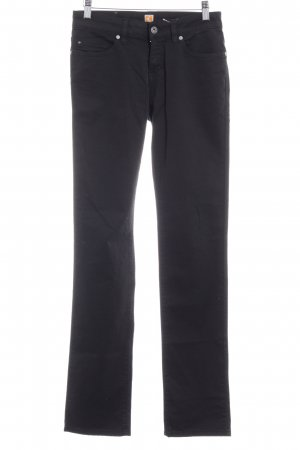 Boss Orange Low-Rise Trousers black casual look