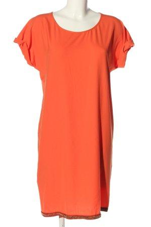 Boss Orange Kurzarmkleid hellorange Casual-Look