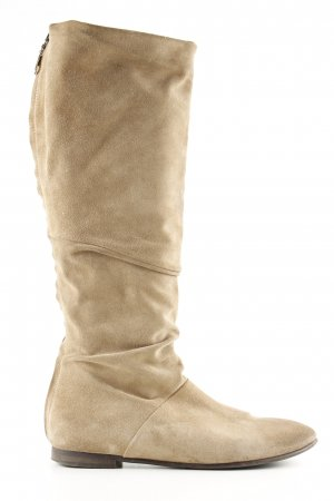 Boss Orange Kurzstiefel beige Casual-Look