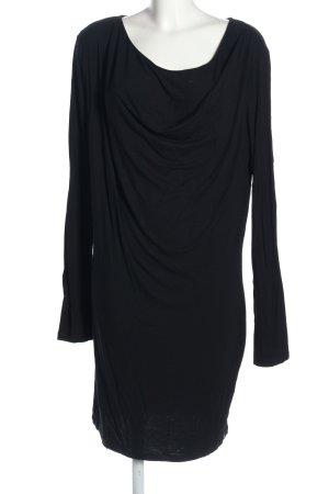 Boss Orange Sukienka z długim rękawem czarny Elegancki