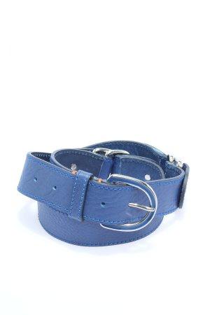 Boss Orange Faux Leather Belt blue casual look