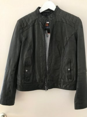 Boss Orange Lederjacke Gr. 40