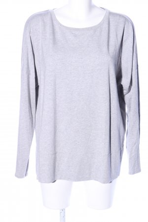 Boss Orange Longsleeve light grey flecked casual look