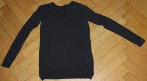 BOSS ORANGE Pulli Gr. S dunkelblau V Ausschnitt ohne Etiketten