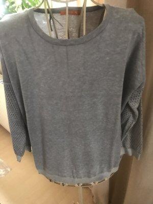 Boss Orange Crewneck Sweater light grey