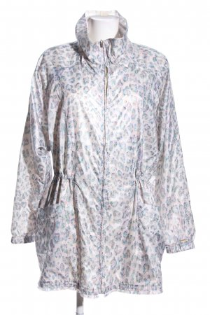 Boss Orange Raincoat light grey-blue allover print casual look