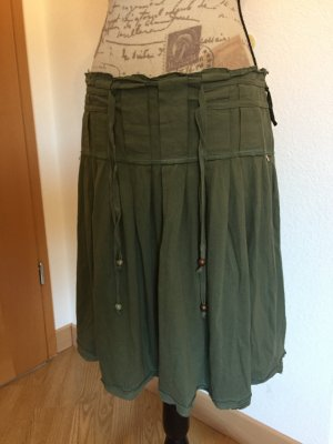 Boss Orange Cargo Skirt green grey-grass green cotton