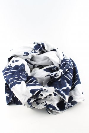 Boss Orange Shoulder Scarf white-blue abstract pattern casual look