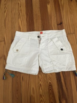 Boss Orange Short Trousers white