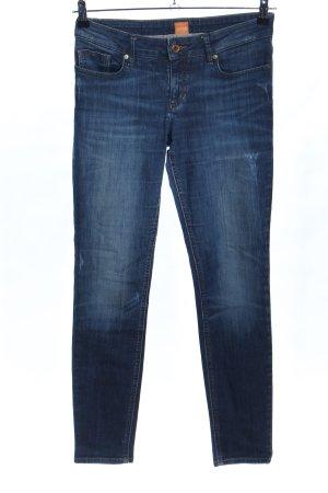 Boss Orange Skinny Jeans blau Casual-Look
