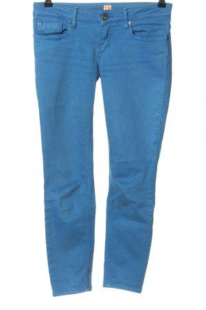 Boss Orange Dopasowane jeansy niebieski W stylu casual