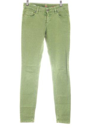 Boss Orange Slim Jeans grün Casual-Look
