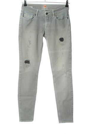 Boss Orange Slim Jeans hellgrau Casual-Look
