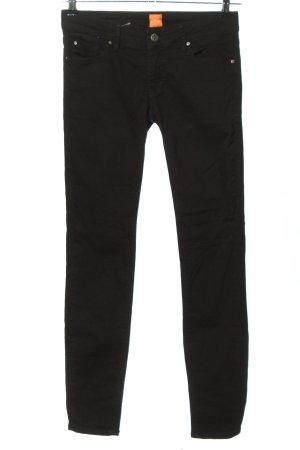Boss Orange Slim Jeans schwarz Casual-Look