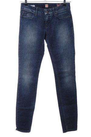 Boss Orange Slim jeans blauw casual uitstraling