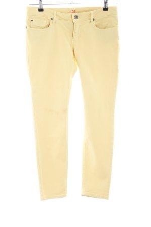 Boss Orange Slim Jeans creme Casual-Look