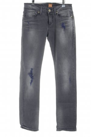 Boss Orange Slim Jeans grau Casual-Look