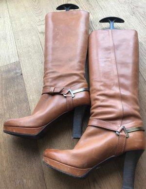 Boss Orange Laarzen met hak bruin