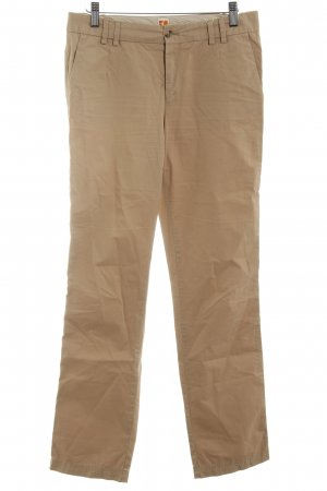 Boss Orange Stoffhose creme Casual-Look