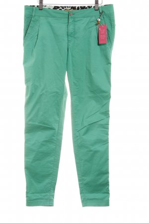 Boss Orange Jersey Pants green casual look