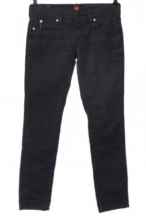 Boss Orange Straight-Leg Jeans schwarz Casual-Look