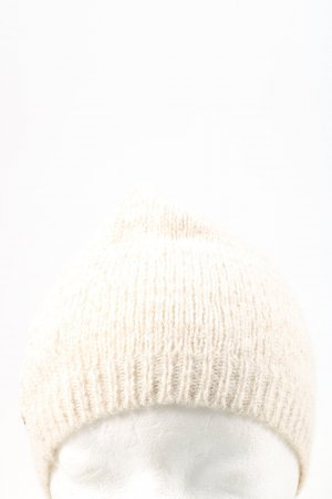Boss Orange Knitted Hat natural white casual look