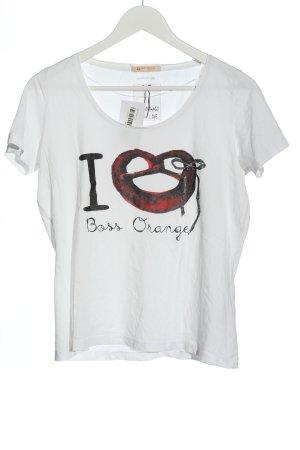 Boss Orange T-shirt Stampa a tema stile casual