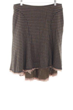 Boss Orange Circle Skirt brown-pink allover print casual look
