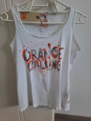 Boss Orange Top de tirantes blanco