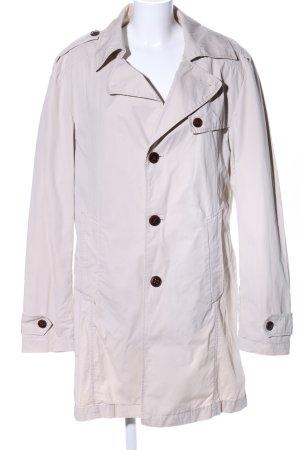 Boss Orange Trenchcoat blanc cassé style décontracté