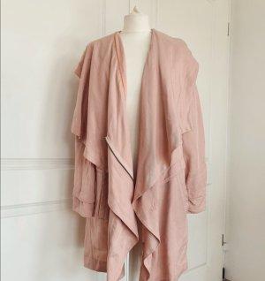 BOSS Orange Trenchcoat Mantel Rosa 40