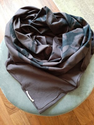 Boss Orange Shoulder Scarf black-grey violet