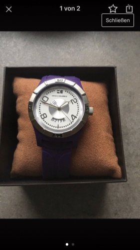Boss Orange Self-Winding Watch lilac