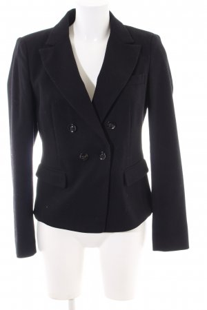 Boss Orange Woll-Blazer schwarz Business-Look