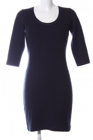Boss Orange Woolen Dress blue business style