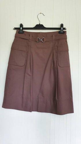 Boss Cargo Skirt grey brown cotton