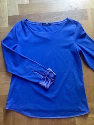 BOSS HUGO BOSS Camisa larga azul Algodón