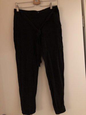 Boss Orange Pantalone alla turca nero-blu scuro