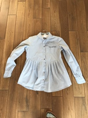 Boss Orange Tunic Blouse blue-light blue