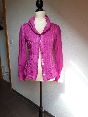 Bottega Veneta Long Sleeve Blouse pink-magenta